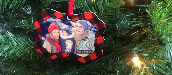 custom holiday ornaments