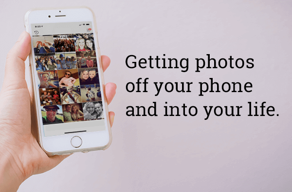 Photos off your phone